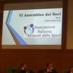 VI ASSEMBLEA DEI SOCI Associazione Italiana Avvocati dello Sport. Avv. Giovanni Longo Pisa