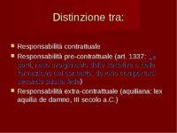 responsabilità contrattuale avv. Giovanni Longo Pisa